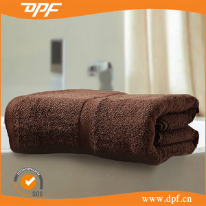 100% Cotton Brown Color for Sport Towel Sets (DPF10766) pictures & photos