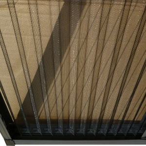 PP Pet Polyester Pleated Mesh Plisse Mesh pictures & photos