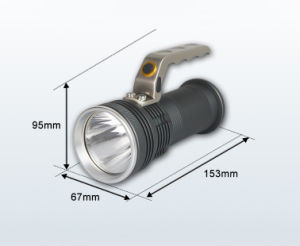 Swat Search Flashlight Outdoor Super Bright LED Torch pictures & photos