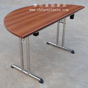 Half Round Table with Folding Leg (YC-T02-01) pictures & photos
