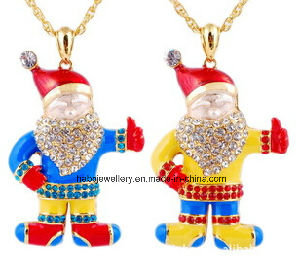 Christmas Jewelry/Christmas Necklace/Father Christmas (XJW13345) pictures & photos