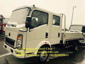 Double Cabin Sinotruk HOWO 4X2 3t Cargo Truck, Lorry Truck, Van Truck