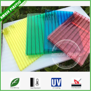 Popular Plastic Decoration Roof Material Polycarbonate Hollow PC Lighting Sheets pictures & photos