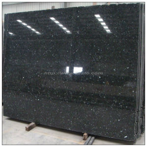 China Manufacture Black Granite Slab pictures & photos