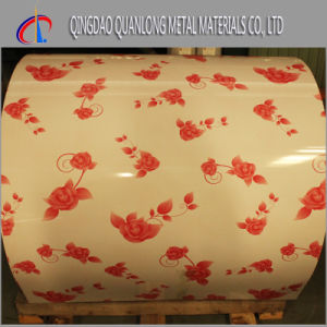 SGCC PPGI Coil Printing Color Coated Steel Roll pictures & photos