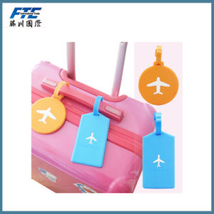 Wholesale Silicone Soft PVC Rubber Luggage Name Tag pictures & photos