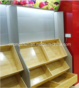 Supermarket Gondola Shelf Shelving for Fruits & Vegetables pictures & photos