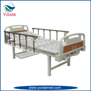Aluminum Alloy Medical Manual Patient Bed pictures & photos