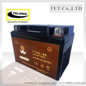Mf Valve Regulated Lead Acid Battery 12V 4ah for Motorcycle pictures & photos