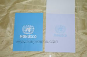 United Nation Monusco Logo Printing A4 Size Sticky Note pictures & photos