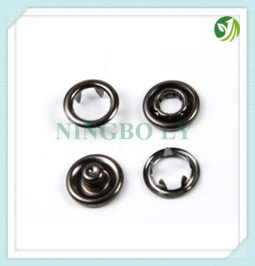 Metal Snap Ring Button-O Style or W Style pictures & photos