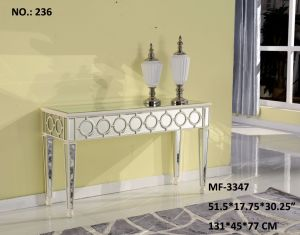 2017 White and Clear Console Table Decor Furniture pictures & photos