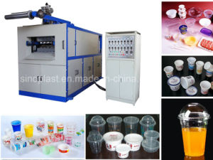 Hydraulic Automatic Plastic Cup Thermoforming Machine