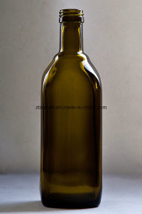 500ml Oblate Shape Glass Bottles pictures & photos