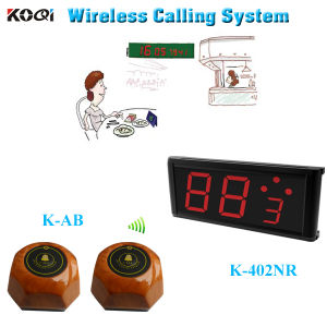 CE Approved 433.92MHz Wireless Service Calling System pictures & photos