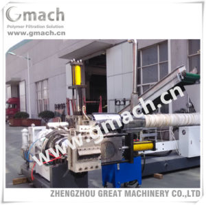 Two Stage Extruder Water Ring Pelletizing Line/Hydraulic Screen Changer pictures & photos