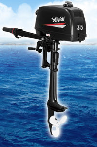 Aiqidi Outboard Motor 2 Stroke Water Cooling T3.5 pictures & photos