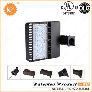 Dlc 15000lm 150W LED Shoebox Lights Replacement 400W Mh/HPS