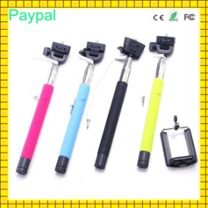 Hotsell Cable Take Pole Selfie Stick for HTC (gc-s0025) pictures & photos
