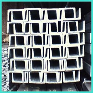 Hot Rolled Steel U Channel U Beam pictures & photos
