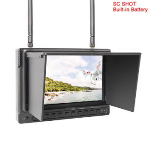 "7"" Wireless Fpv Monitor with DVR, Dual 32CH 5.8g Receivers pictures & photos"