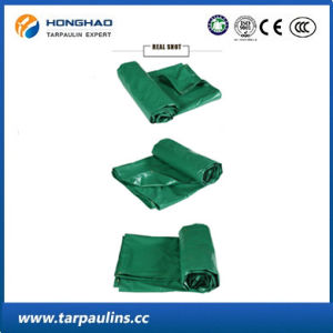 Green Eco-Friendly Waterproof PVC Tarpaulin/Tarp for Cover pictures & photos