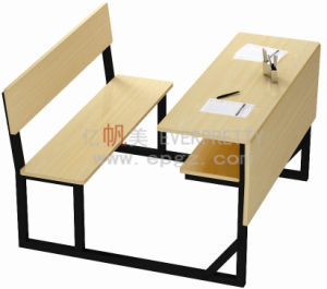 Cheaper School Furniture Desk /School Study Desk /School Desk & Bench for Cheap Price pictures & photos