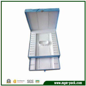 Wholesale Contracted Style Blue Packing Jewelry Boxes pictures & photos