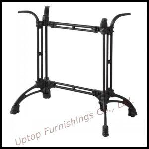 Antique Style Two Leg Black Cast Iron Table Base (SP-MTL129) pictures & photos