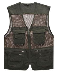 Hot Selling Mens Multipockets Fishing Vest pictures & photos