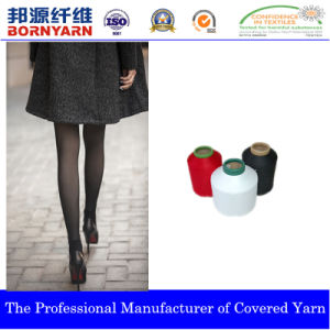 Spandex Covered Yarn with Nylon for Hosiery pictures & photos