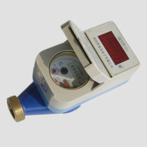 RF Card Prepaid Water Meter with Top up Software pictures & photos
