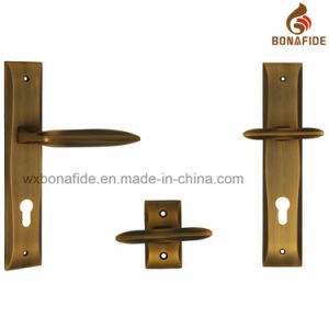 High Quality Door Handle on Plate pictures & photos