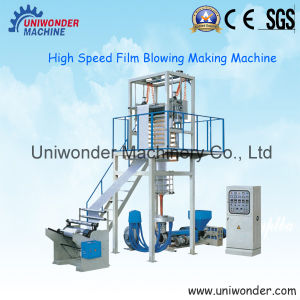 High Speed Plastic Film Blown Machine