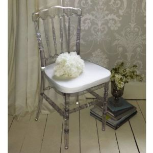 Polycarbonate Resin Banquet Wedding Rental Napoleon Chair pictures & photos