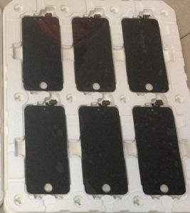 LCD Display for iPhone 5 with Glass Touch Screen Digitizer Replacement