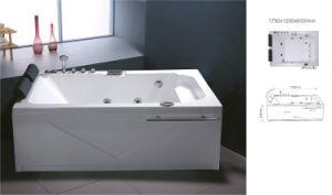 Acrylic Freestanding Indoor Bathroom Massage Bathtub (BNG5007)