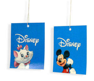 Printed Paper Hang Card with Hole pictures & photos