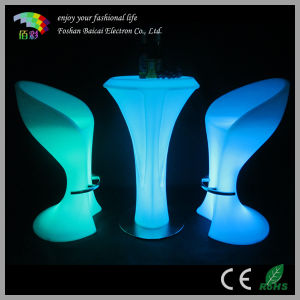 LED Furniture for Bar/LED Glowing Bar Table pictures & photos