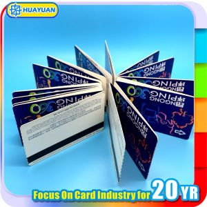 13.56MHz E-ticket system RFID MIFARE Ultralight EV1 Z FOLDED Paper Card pictures & photos