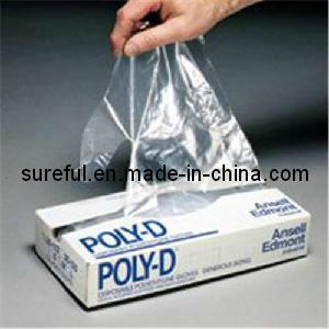 HDPE Disposable Glove/HDPE Disposable Apron pictures & photos