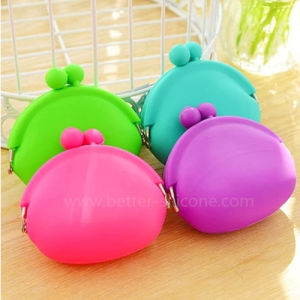 Popular Colorful Silicone Coin Wallet for Promotion pictures & photos