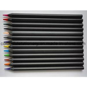Black Wood Color Pencil pictures & photos