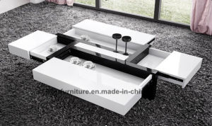 Modern Furniture Coffee Table MDF with High Gloss (SC-5179)