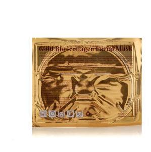 Beauty Skin Gold Bio-Collagen Facial Mask pictures & photos