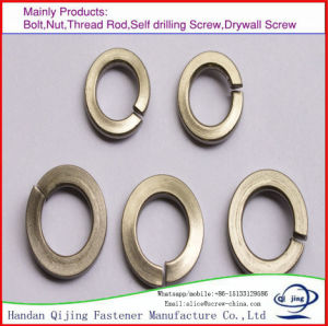 DIN127 Spring Lock Washers, DIN6916 Round Washers for Friction Grip Bolts, DIN125 Plain Washers pictures & photos
