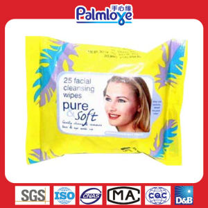 Soft Moisture Make up Wet Wipes pictures & photos