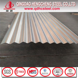 24 Gauge Anti-Fingerprint Galvalume Corrugated Iron Roofing Sheet pictures & photos