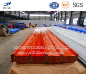 Colored Galvanized Corrugated Steel Plate and Roofing Sheet