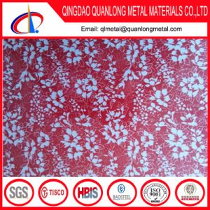 Flower Pattern Color Printing PPGI Steel Coil pictures & photos